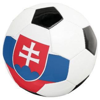 スロバキアの旗 サッカーボール