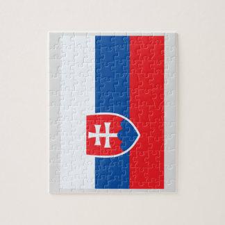 スロバキアの旗 ジグソーパズル
