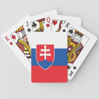 スロバキアの旗 トランプ