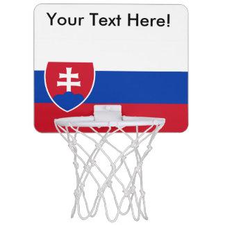 スロバキアの旗 ミニバスケットボールゴール