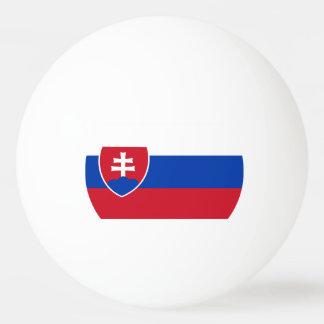 スロバキアの旗 卓球ボール