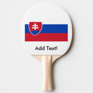 スロバキアの旗 卓球ラケット