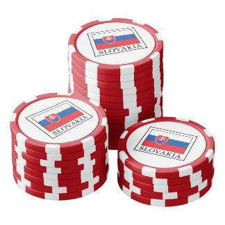 スロバキア ポーカーチップ