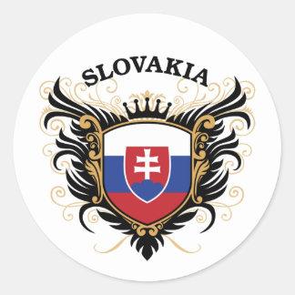 スロバキア ラウンドシール