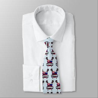 スロバキアSlovenskoのラクロスのタイ オリジナルネクタイ