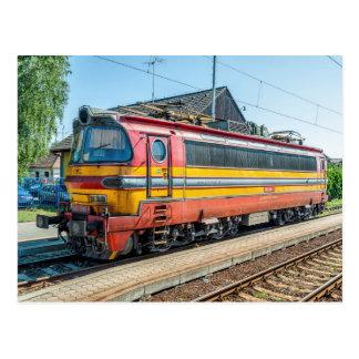 スロバキアZSSK電気locom。 タイプ240 ポストカード
