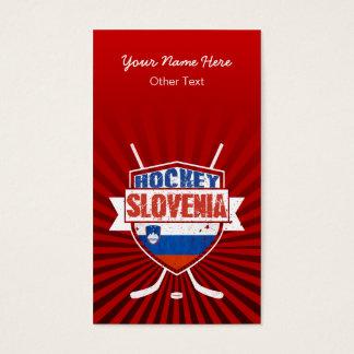スロベニアのアイスホッケーのカスタムな名刺 名刺