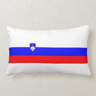 スロベニアの国旗の国家の記号 ランバークッション