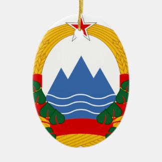 スロベニアの社会主義共和国の紋章 セラミックオーナメント