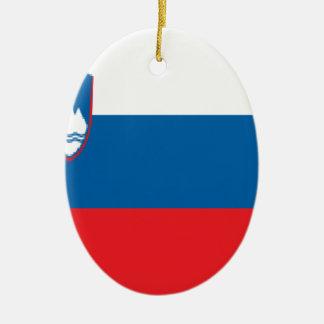 スロベニア セラミックオーナメント