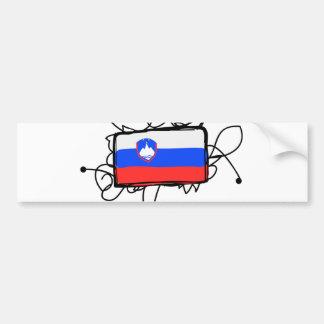 スロベニア バンパーステッカー