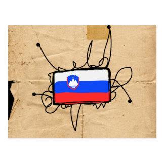 スロベニア ポストカード