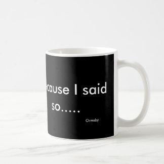 スローガンのマグ コーヒーマグカップ