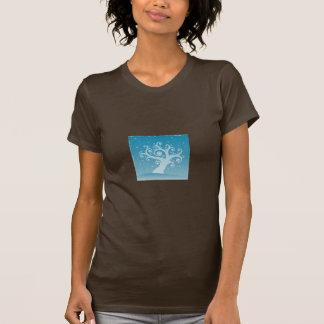 スローガンの系図学のワイシャツ Tシャツ