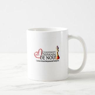 スローガンライン コーヒーマグカップ