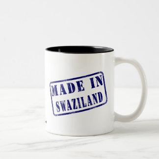 スワジランドで作られる ツートーンマグカップ