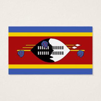 スワジランドの名刺の旗 名刺