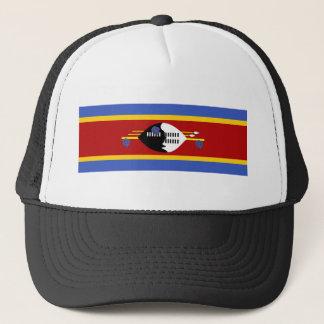 スワジランドの国の長い旗の国家の記号 キャップ