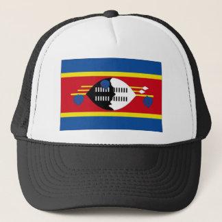 スワジランドの国旗 キャップ