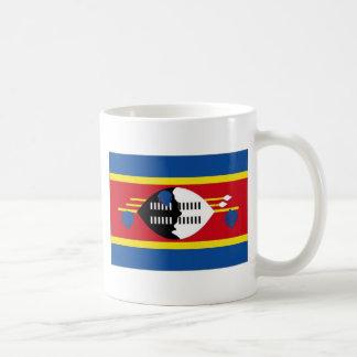 スワジランドの国旗 コーヒーマグカップ