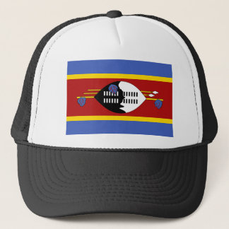 スワジランドの国民の世界の旗 キャップ
