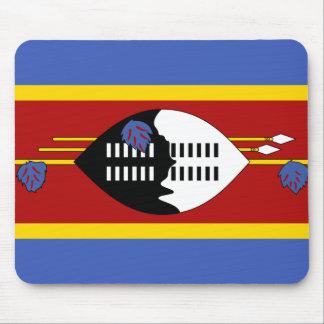 スワジランドの国民の世界の旗 マウスパッド