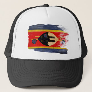 スワジランドの旗のトラック運転手の帽子 キャップ