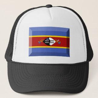 スワジランドの旗の宝石 キャップ