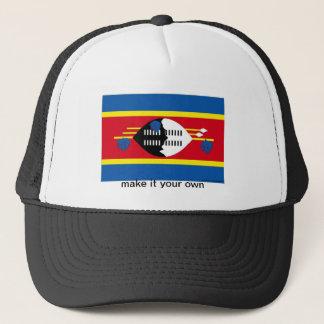 スワジランドの旗の記念品の帽子 キャップ
