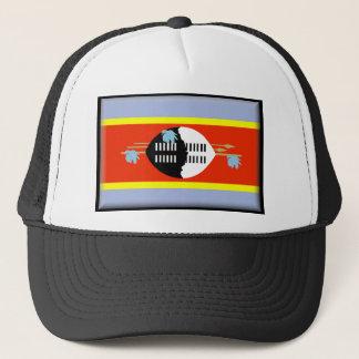 スワジランドの旗 キャップ