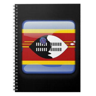 スワジランドの旗 ノートブック