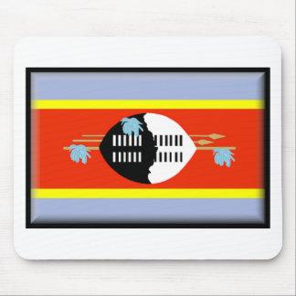 スワジランドの旗 マウスパッド