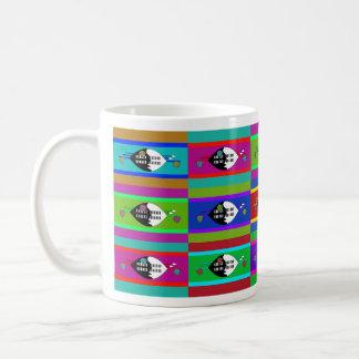 スワジランドMultihueはマグに印を付けます コーヒーマグカップ