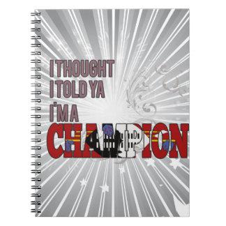 スワジ語およびチャンピオン ノートブック