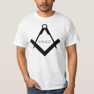 スワッグの石大工のTシャツ Tシャツ