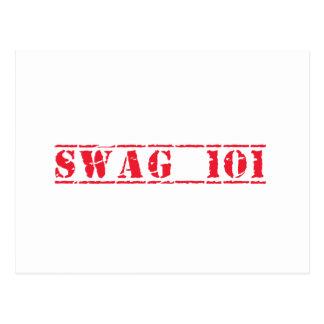 スワッグ101 ポストカード