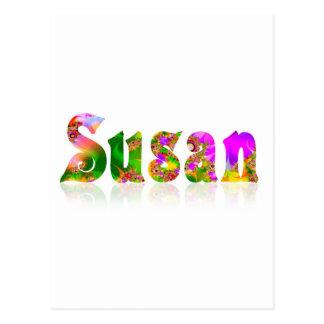 スーザン ポストカード