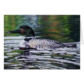 スーザンOling著水潜り鳥 カード