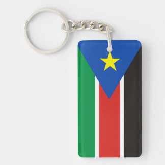 スーダンの南国の長い旗の国家の記号 キーホルダー
