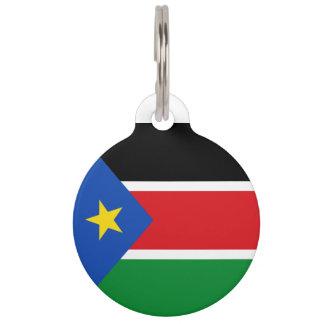 スーダンの南旗 ペット ネームタグ