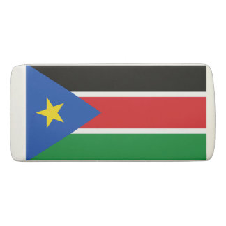 スーダンの南消す物の旗 消しゴム