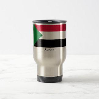 スーダンの旗 トラベルマグ