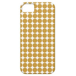 スーダンブラウンのサファリの点 iPhone SE/5/5s ケース
