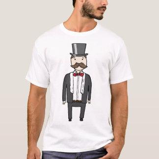 スーツの紳士 Tシャツ