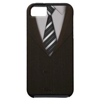 スーツ iPhone SE/5/5s ケース