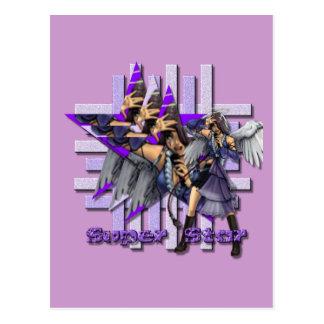 スーパースターの天使-郵便はがき ポストカード