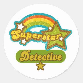 スーパースターの探偵 ラウンドシール