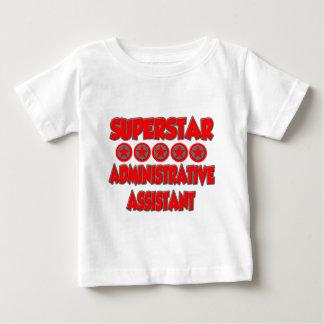 スーパースターの管理スタッフ ベビーTシャツ