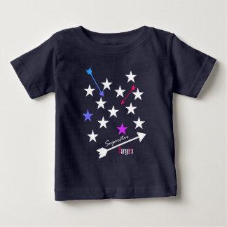 スーパースターは星の矢のファンキーなTシャツを目標とします ベビーTシャツ