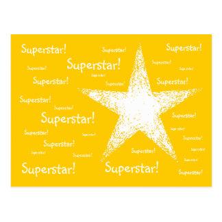 スーパースター! |の黄色 ポストカード